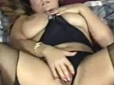 fingering, chubby, mature, solo, natural tits, nylon, bitch