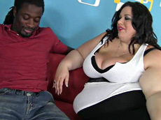Deserie - blowjob, brunette, interracial, milf, titjob, facial, fat, hardcore, big black cock